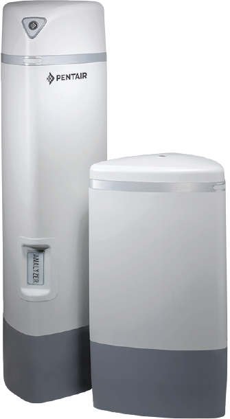An example of one of PENTAIR's Pro Elite water conditioners.